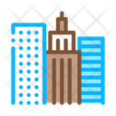 High Rise Buildings View Icon