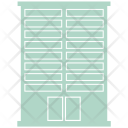 High Rise Apartment House Icon