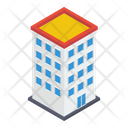 High Rise Building Modern Architecture Skylines Icon