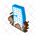 High Rise Building Collapse Icon