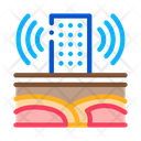 Seismic Wave High Rise Icon