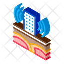High Rise Wave Icon