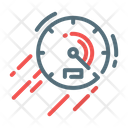 High Speed Speedometer Icon