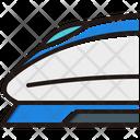 High Speed Train Icon