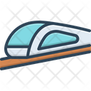 High Speed Transportation Icon