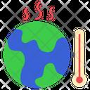 Temperature World Earth Icon