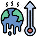 Climate Change Global Warming High Temperature Icon