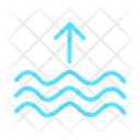 High Tide High Waves Waves Icon