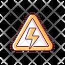 High Voltage Sign Icon