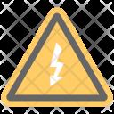High Voltage Hazard Icon