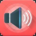 Volume Speaker Loud Icon