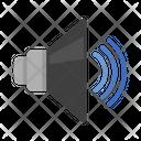 High Volume Volume Button Loudspeaker Icon