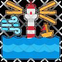 High Wave Warning Icon