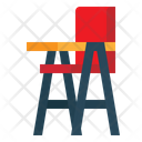 Highchair Kid And Baby Furniture And Household Icon