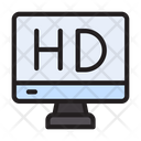 Hd Highdefinition Video Icon
