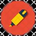 Highlighter Office Supply Marker Icon