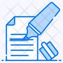 Highlighter Stationery Marker Icon
