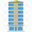 City Building Highrise Icon