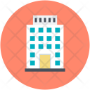 Highrise Tower Apartment Icon