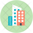 Highrise Building Structure Icon