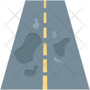Highway Road Intersection Icon