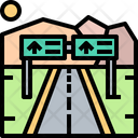 Highway Highway Path Path Icon