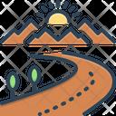 Highway Highroad Thoroughfare Icon