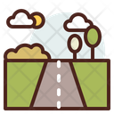 Highway Road Direction Icon