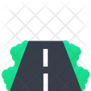 Highway Road Path Icon