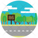 Highway Road Traffic Icon