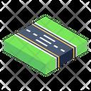 Avenue Road Path Icon