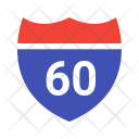 Highway Speed Sign Icon