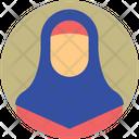 Eid Mubarak Hijab Islam Icon