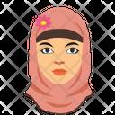 Hijab Muslim Islam Icon