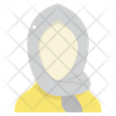 Hijab Wear Cloth Icon