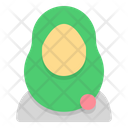 Hijab Muslimah User Icon