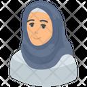 Hijab Arabic Woman Muslim Icon