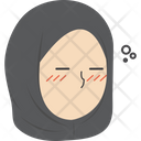 Sleepy Hijab Girl Icon