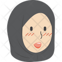 Hijab Girl Talking Icon