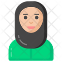 Hijab Girl Icon