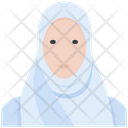 Woman Muslim Religion Icon