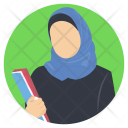 Hijab Muslim Woman Icon