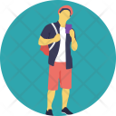 Hiker Avatar Boy Icon