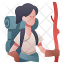 Explorer Character Rpg Icon