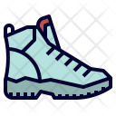Hiking Trekking Shoe Icon