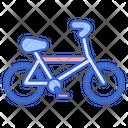 Hiking Bicycle Icon