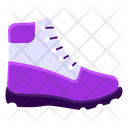 Trekking Shoes Hiking Shoes Running Shoes Icon