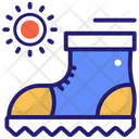 Hiking Boots Boots Camping Icon