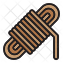 Rope Camping Hiking Icon