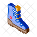 Hiking Tourist Boot Icon